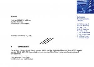 ISO12944 ZINGA 2x90
