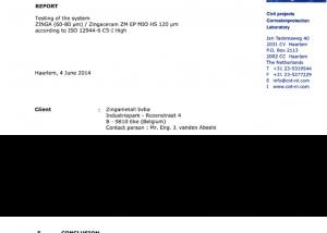 ISO12944 Zingaceram HS
