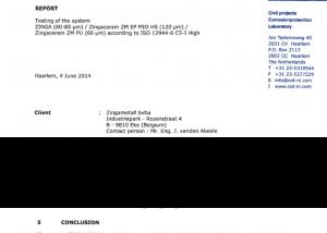 ISO12944 Zingaceram PU